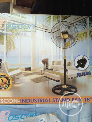Original Bosco Industrial Fan IDF1718 Standard Quality   Home Appliances for sale in Lagos State, Yaba