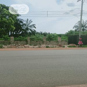 Fenced 100ft by 200ft Plot of Land Along Obagie, Sapele Road   Land & Plots For Sale for sale in Edo State, Benin City