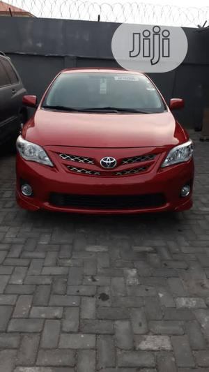 Toyota Corolla 2013 Red   Cars for sale in Lagos State, Ajah