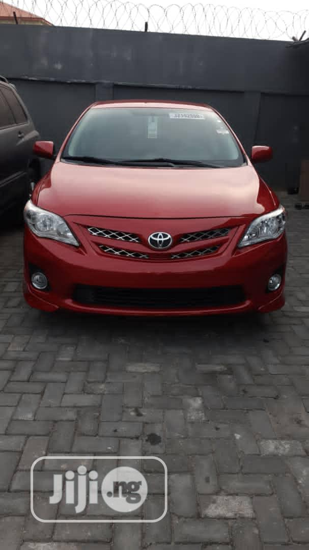 Toyota Corolla 2013 Red