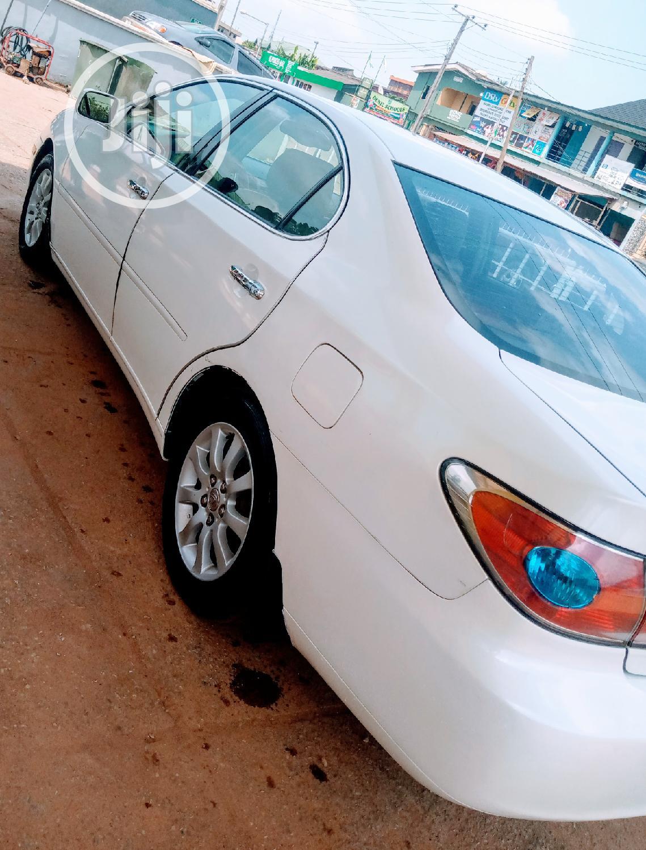 Lexus ES 2004 White | Cars for sale in Ifako-Ijaiye, Lagos State, Nigeria
