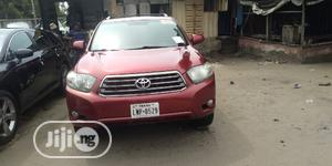 Toyota Highlander 2009 Red   Cars for sale in Lagos State, Apapa