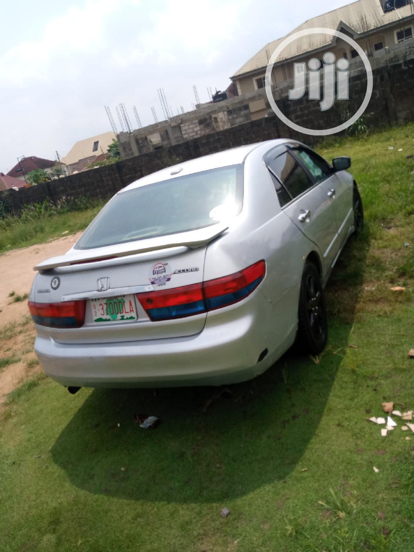 Honda Accord 2005 Silver   Cars for sale in Ifako-Ijaiye, Lagos State, Nigeria