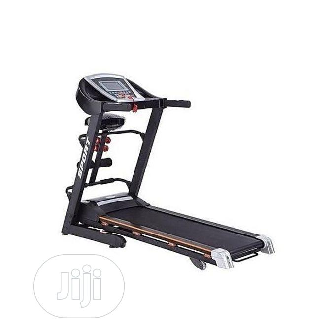 3.0HP Treadmill Machine With Massager, Incline, MP3 Sit-Up