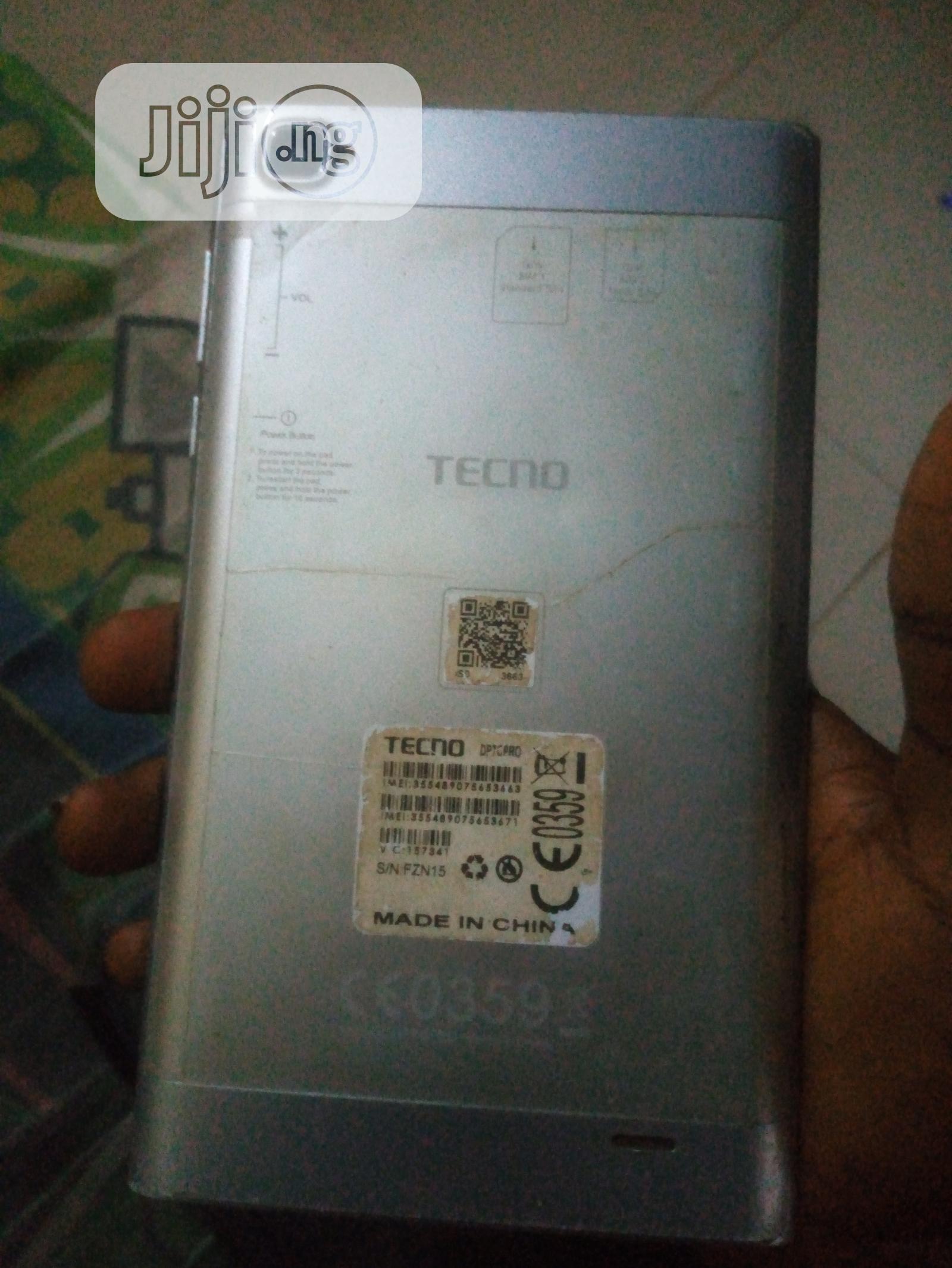 Archive: Tecno DroiPad 7C Pro 16 GB Silver