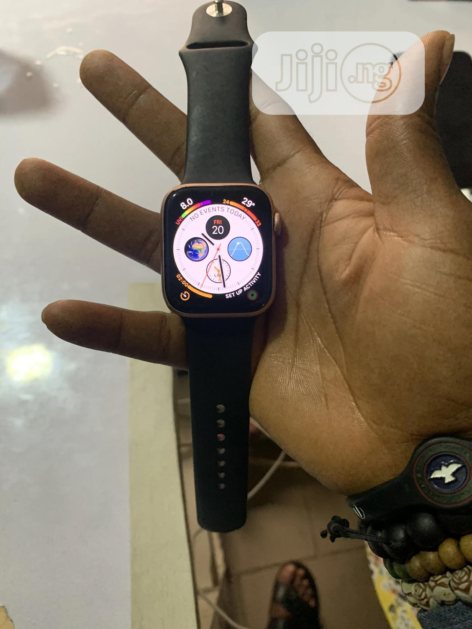 Apple Iwatch Series 4 44mm | Smart Watches & Trackers for sale in Ikeja, Lagos State, Nigeria