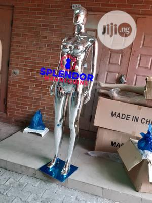 Glossy Female Chrome Mannquine   Store Equipment for sale in Lagos State, Oshodi