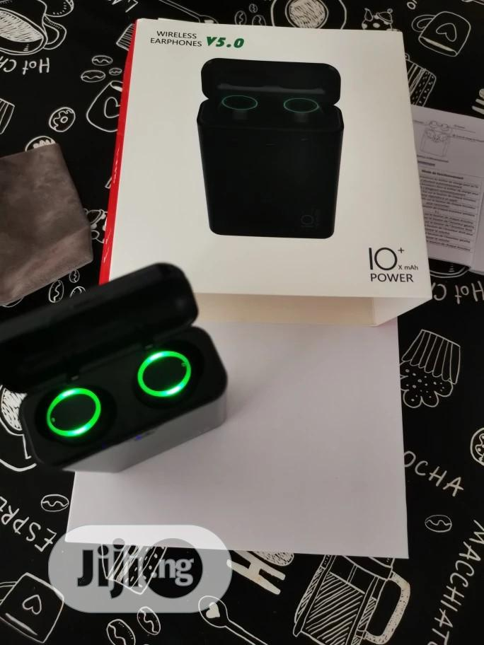 Powerbank V5.0 Bluetooth Wireless Earphone | Accessories for Mobile Phones & Tablets for sale in Benin City, Edo State, Nigeria