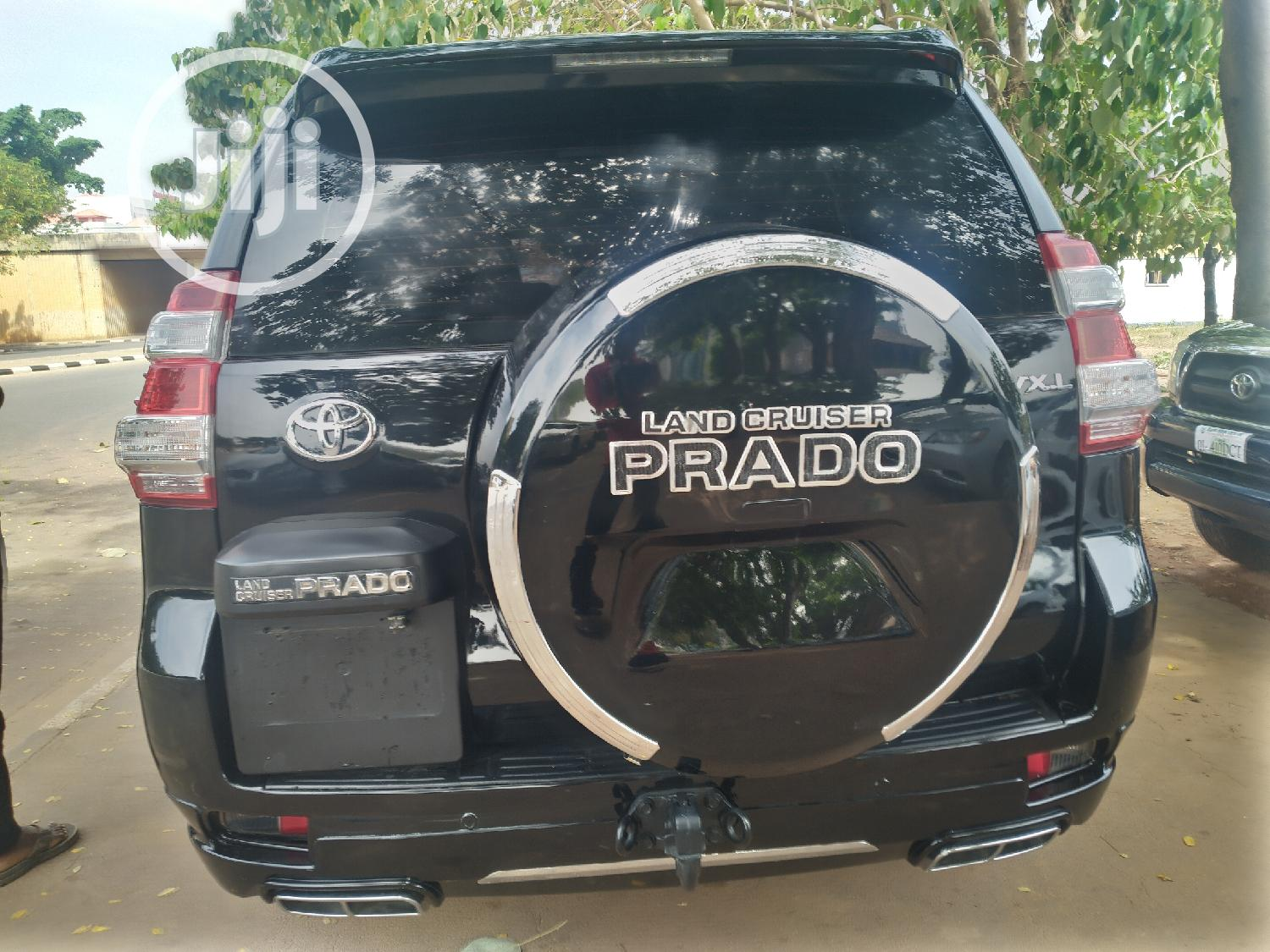Toyota Land Cruiser Prado 2016 VX Black | Cars for sale in Central Business Dis, Abuja (FCT) State, Nigeria