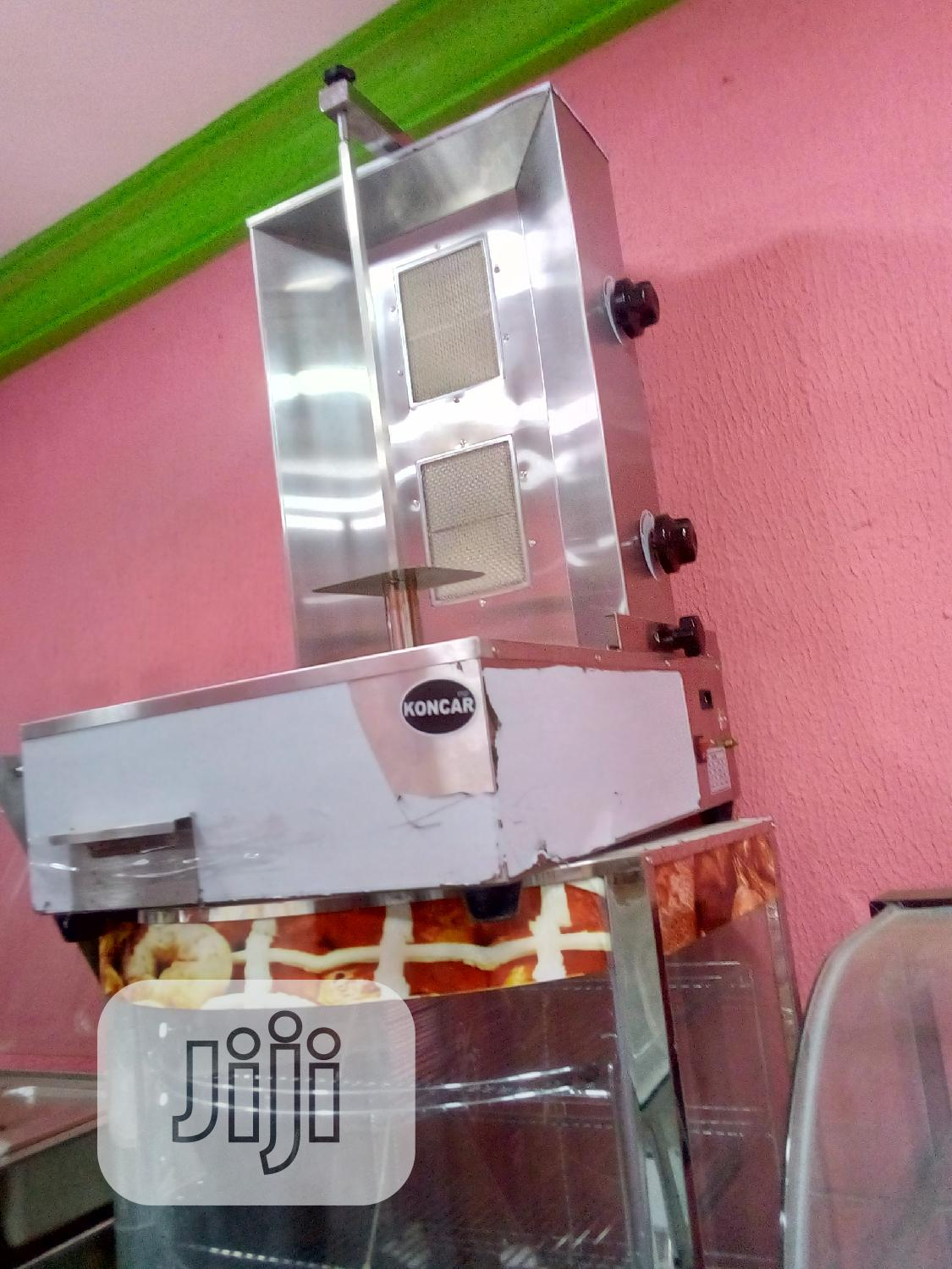 Archive: 2 Burna Shawarma Machine Gas
