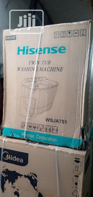 Hisense Washing Machine 7kg | Home Appliances for sale in Lagos State, Ojo