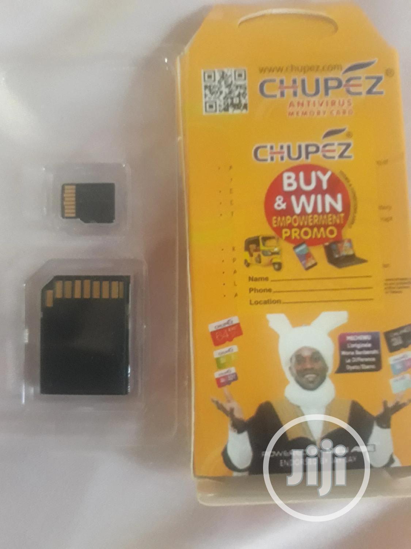 Archive: Original Chupez Memory Card