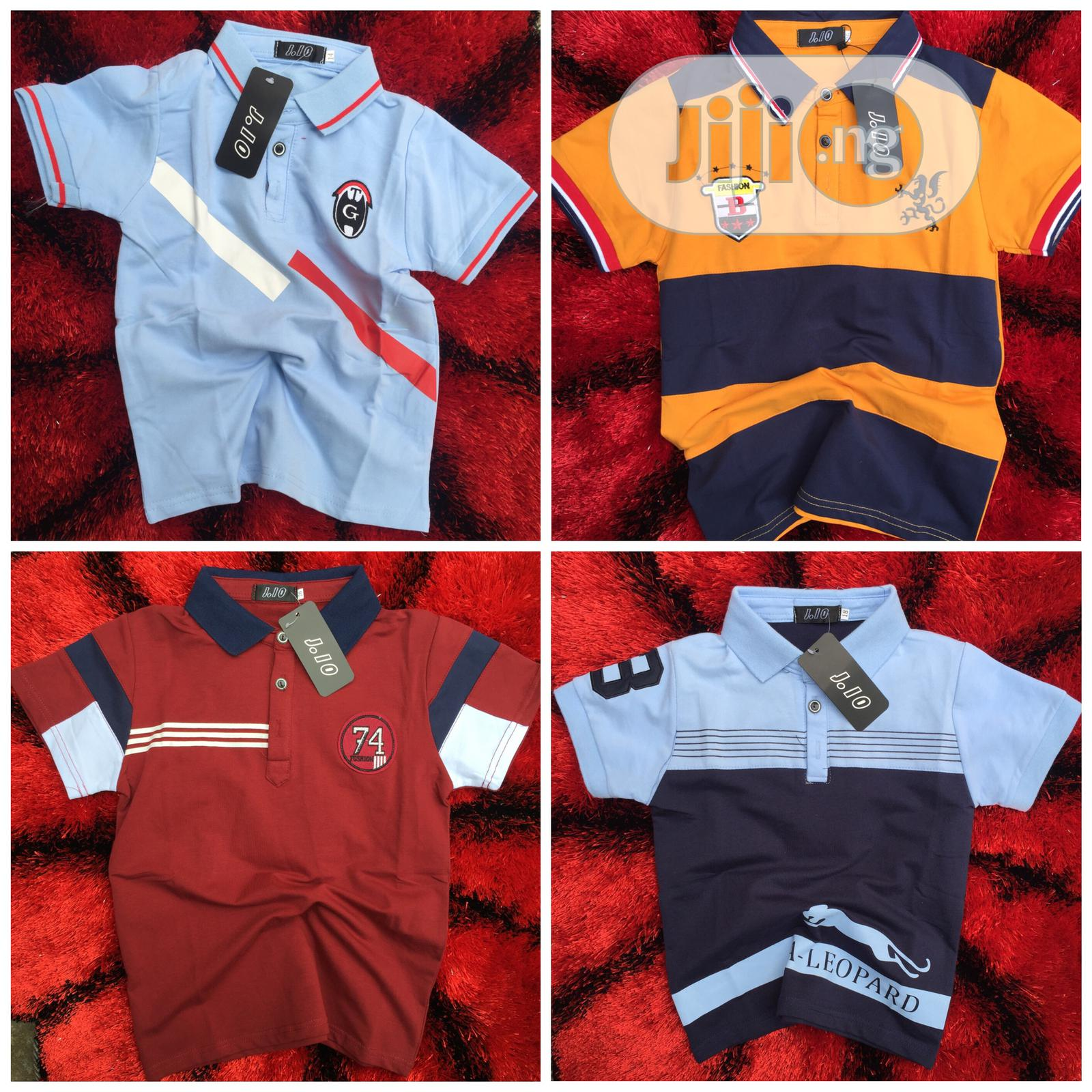 Archive: Boys Polo Tops