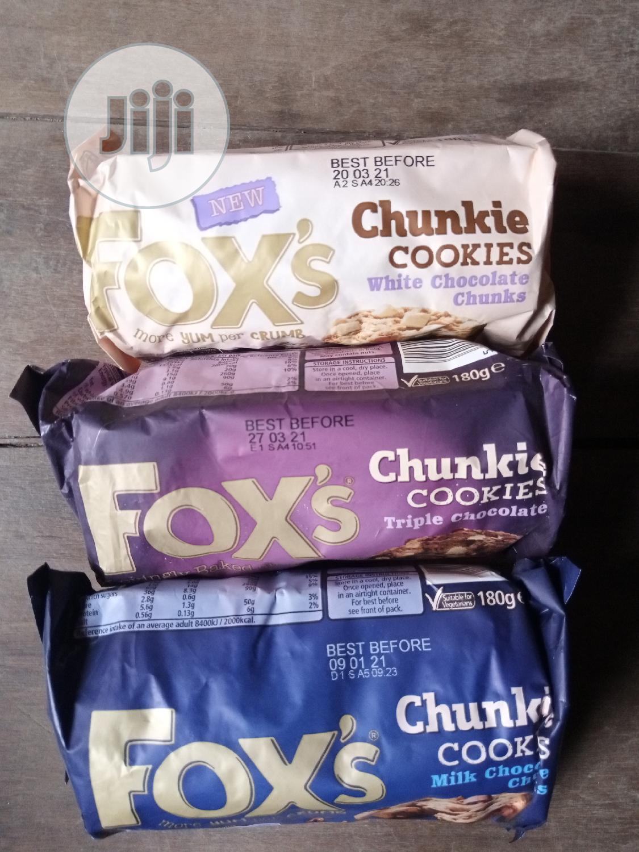 Fox Chunkie Cookies 3flavours