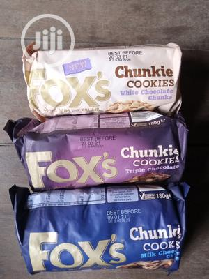 Fox Chunkie Cookies 3flavours | Meals & Drinks for sale in Lagos State, Surulere