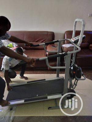 4in1 Manual Treadmill | Sports Equipment for sale in Lagos State, Surulere