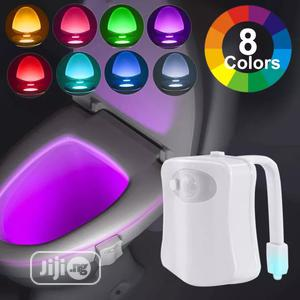 Motion Activated Night Sensor Toilet Bowl Light | Home Accessories for sale in Lagos State, Lagos Island (Eko)
