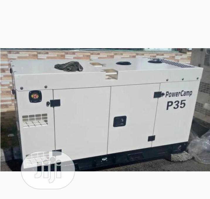 Original Perkins 30kva Soundproof Diesel Generator