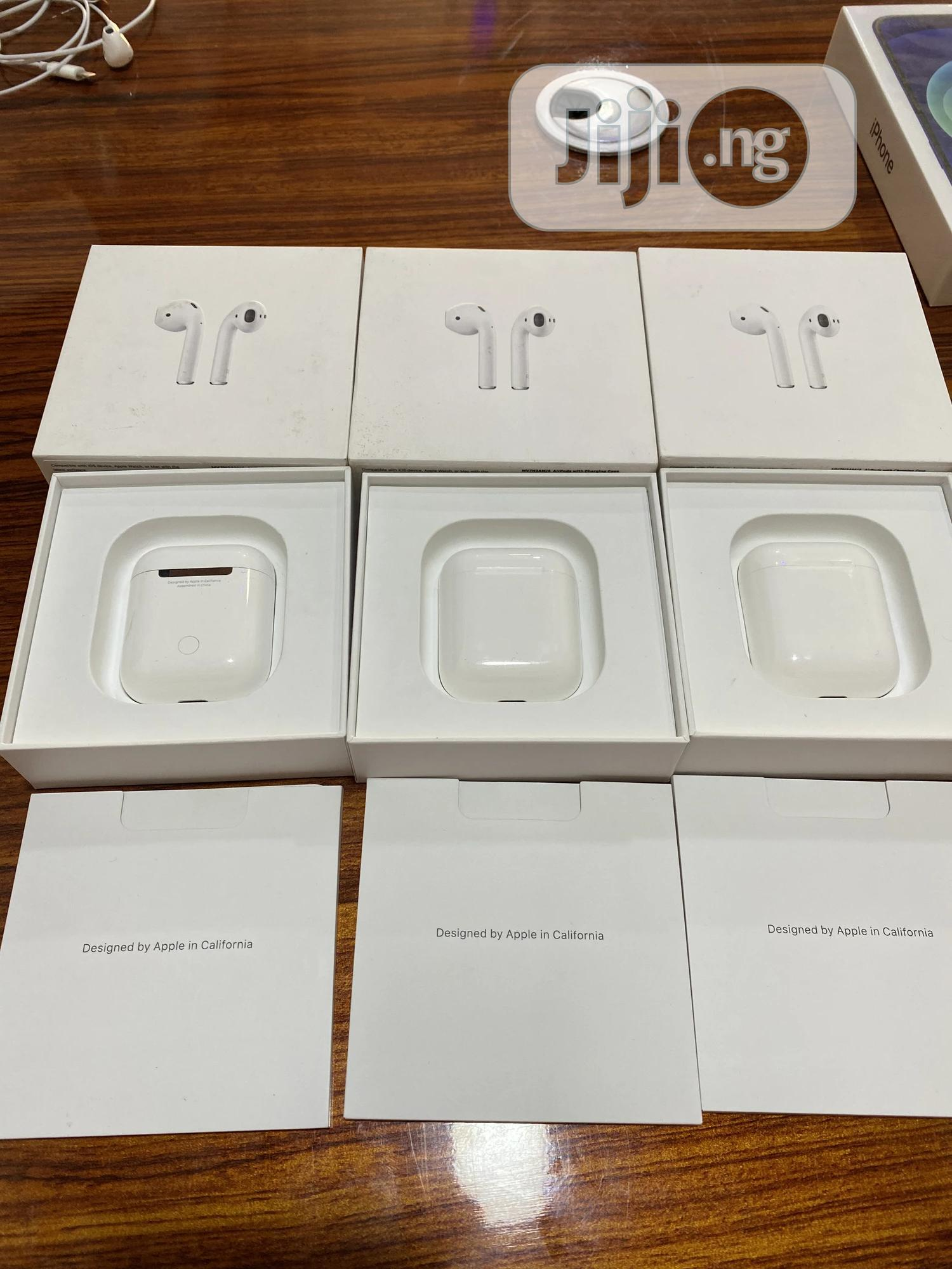 Open Box Apple Airpod 2 | Accessories for Mobile Phones & Tablets for sale in Wuse 2, Abuja (FCT) State, Nigeria