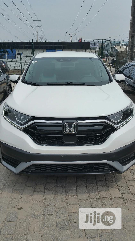 Honda CR-V 2020 EX-L AWD White