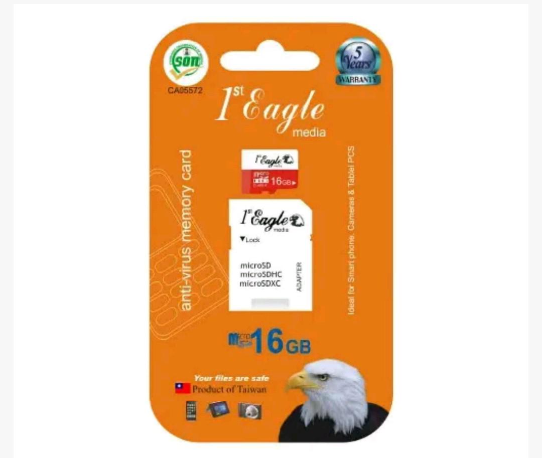 First Eagle 16gb Memory Card