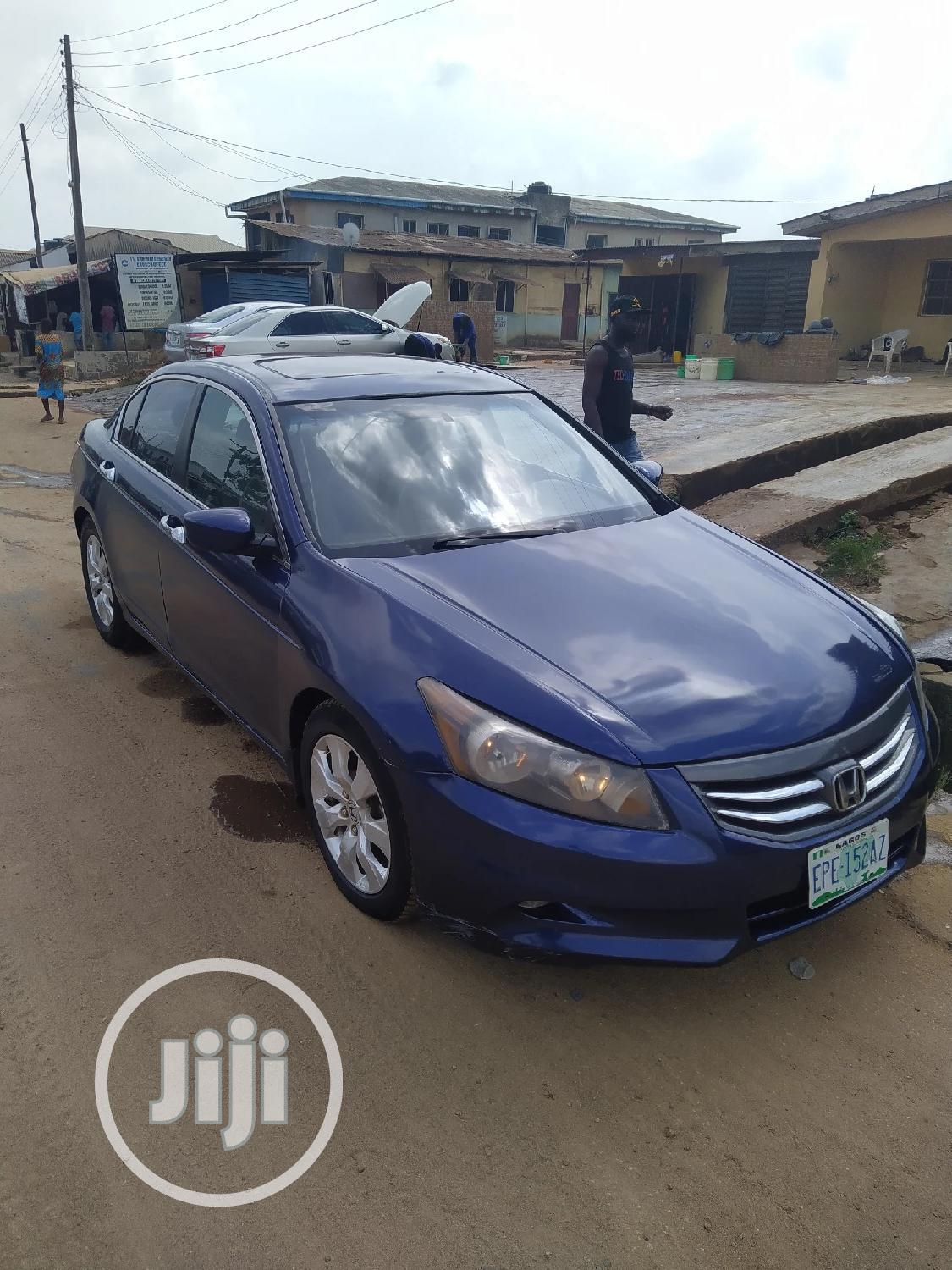 Archive: Honda Accord 2008 Blue
