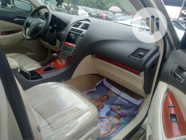 Archive: Lexus ES 2010 350 Gold