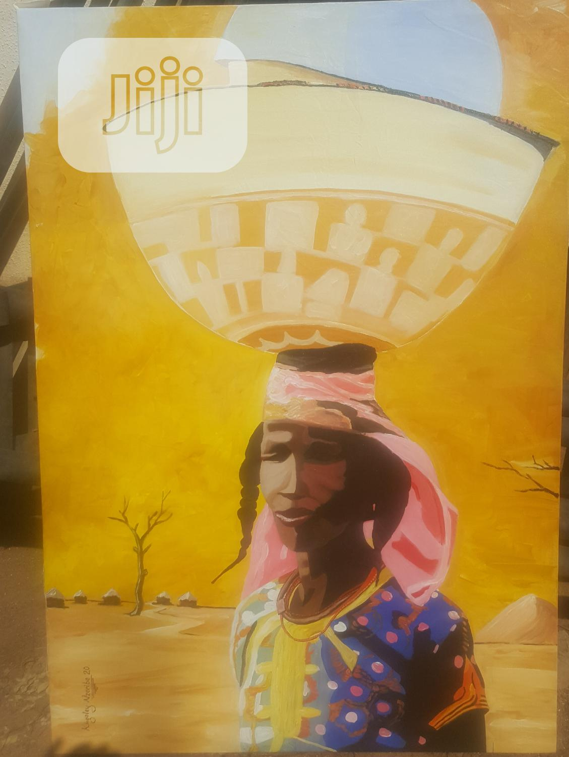 Paintings On Canvas | Arts & Crafts for sale in Wuse, Abuja (FCT) State, Nigeria