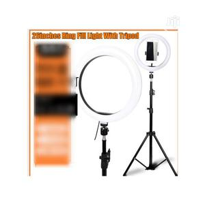 Smartphone Youtube 26 Inches LED Ring Light Dimmable Makeup   Accessories & Supplies for Electronics for sale in Lagos State, Ikoyi