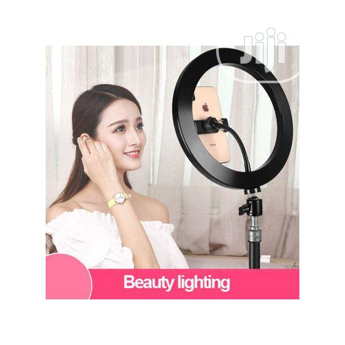 26inch Led Ring Light Whitening Photography Phone Holder | Accessories & Supplies for Electronics for sale in Apapa, Lagos State, Nigeria