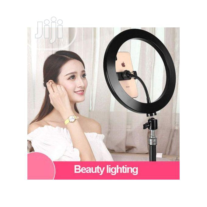 """Archive: 26"""" LED Selfie Ring Light & Remote For Photo & Youtube Video"""