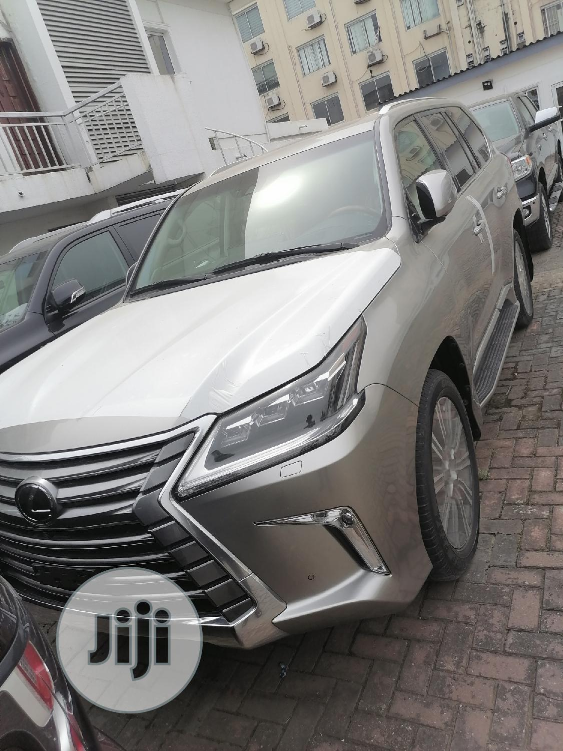 Archive: New Lexus LX 2019 570 Three-Row Gold
