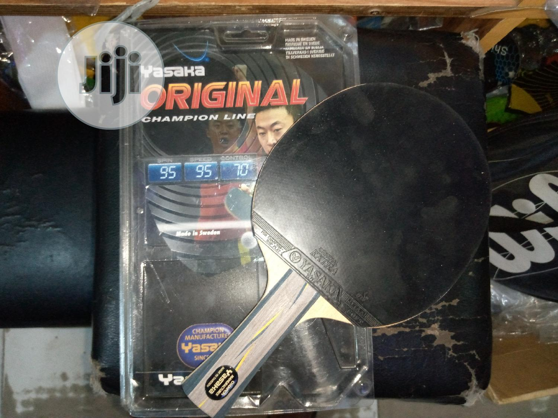 Archive: Yasaka Table Tennis Rubber Bat