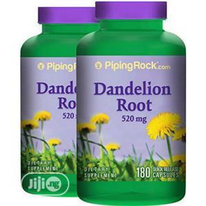 Pipingrock Dandelion Root for Liver, Skin, Stomach, Kidney | Vitamins & Supplements for sale in Lagos State, Lekki