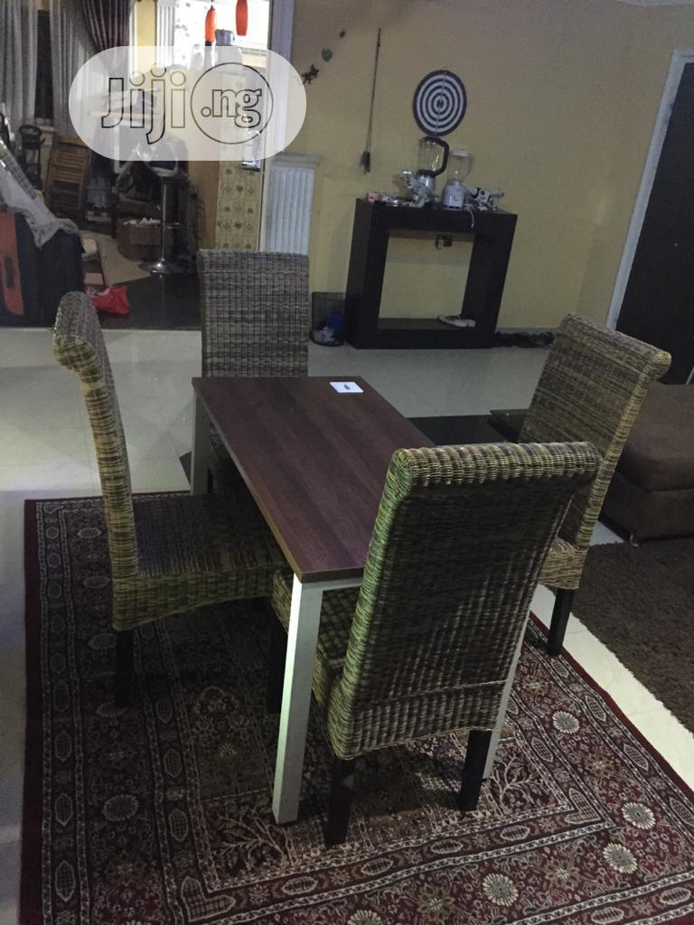 Germany Hard Wooden, Baskets Chairs and Iron Dining Tables | Furniture for sale in Ajah, Lagos State, Nigeria