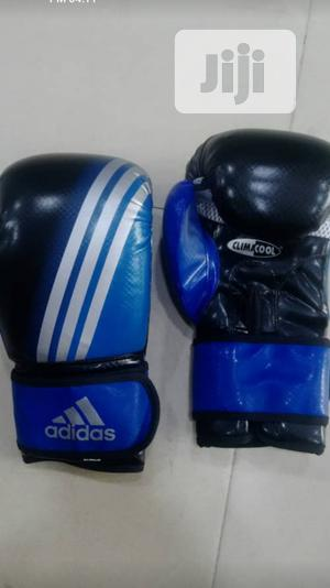 Color Blue Adidas Boxing Glove | Sports Equipment for sale in Lagos State, Surulere