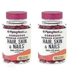 Pipingrock.Com Gorgeous Superior Hair Skin and Nails. Biotin | Vitamins & Supplements for sale in Enugu State, Enugu