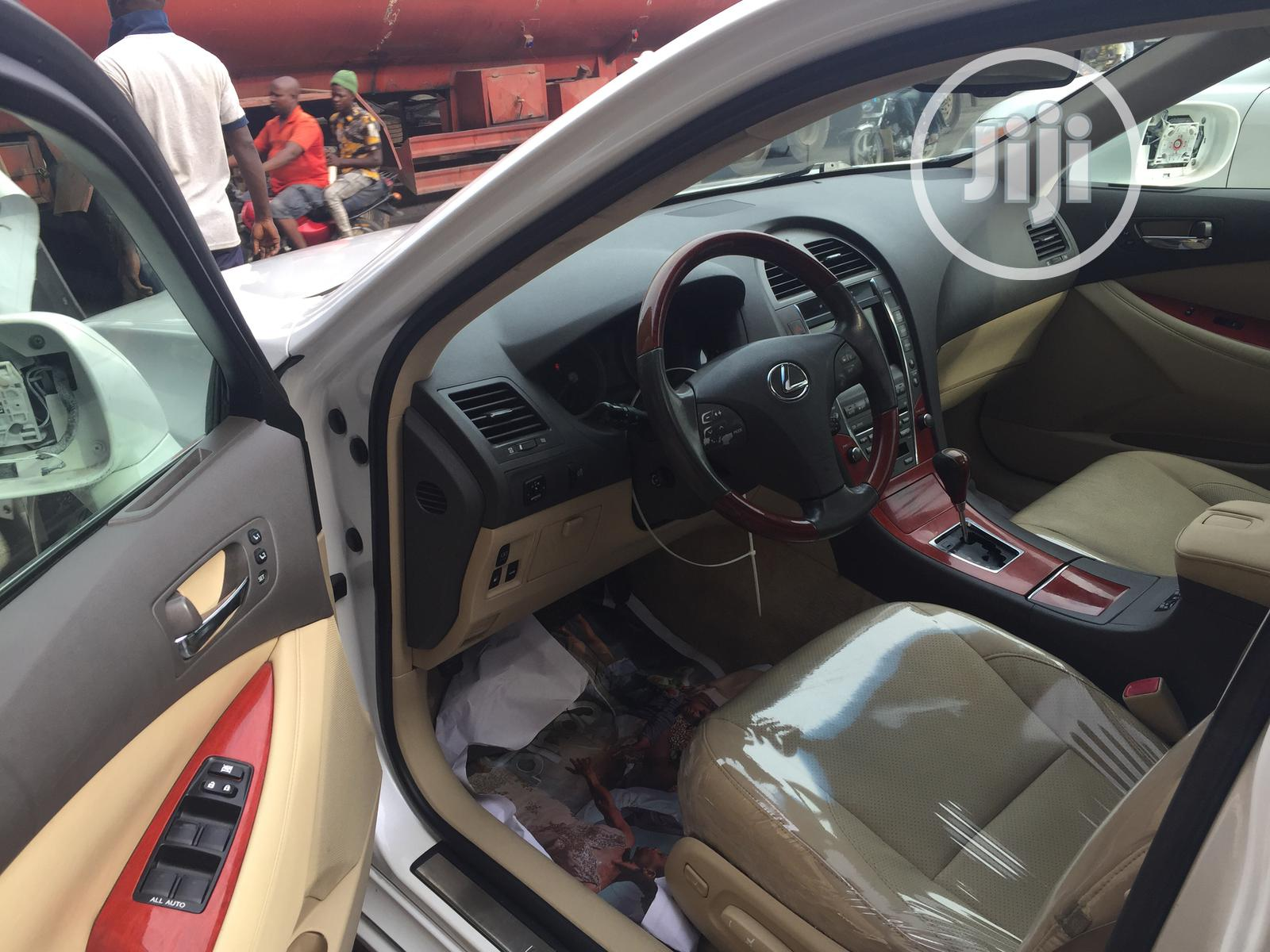 New Lexus ES 2008 350 White   Cars for sale in Apapa, Lagos State, Nigeria