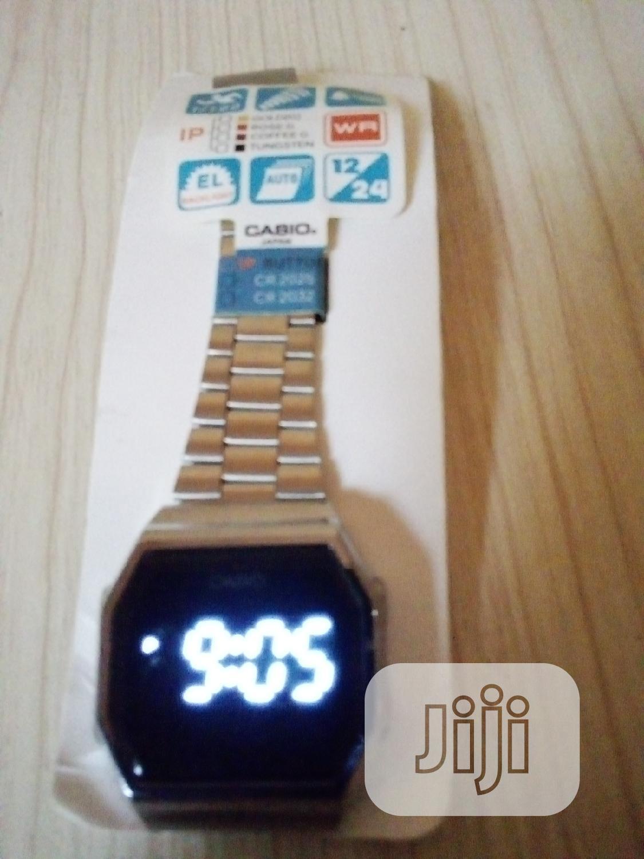 Casio Digital Touch Screen Watch