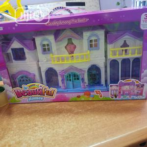 Convertable Doll House With Dolls | Toys for sale in Lagos State, Lekki