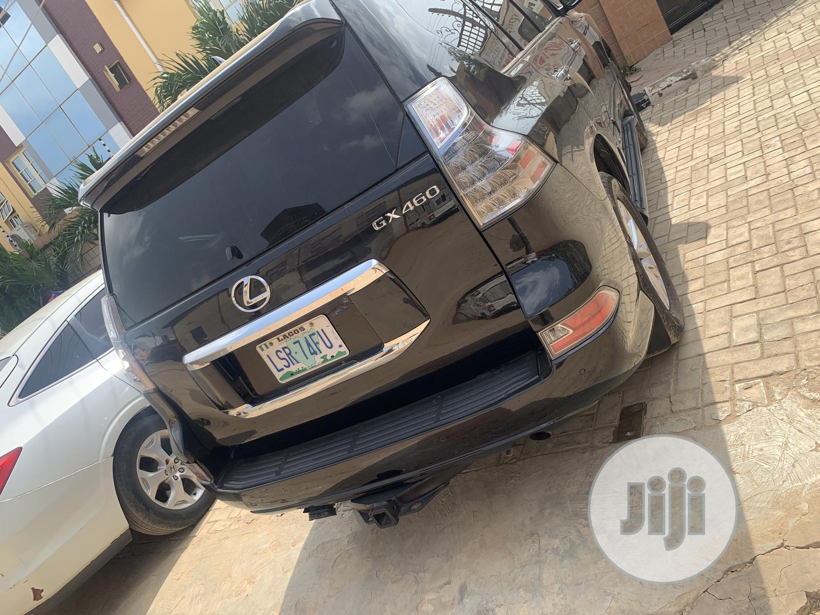 Lexus GX 2015 460 Luxury Black   Cars for sale in Ikeja, Lagos State, Nigeria
