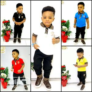 Turkey Versace Designer's Trouser And T-shirt | Children's Clothing for sale in Lagos State, Ajah