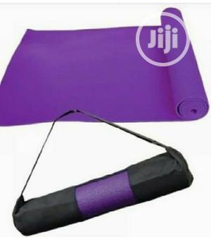 Band New Yoga Mat With Bag   Sports Equipment for sale in Lagos State, Surulere