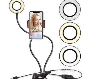 Table Clip Ring Light With a Selfie Stand | Accessories & Supplies for Electronics for sale in Lagos State, Ikeja