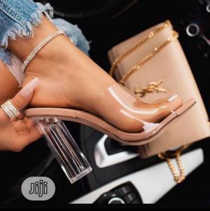 Transparent Block Heels | Shoes for sale in Lagos State, Lekki