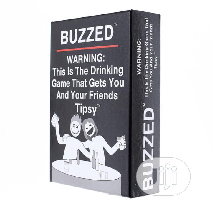 Archive: Buzzed Drinking Game Card