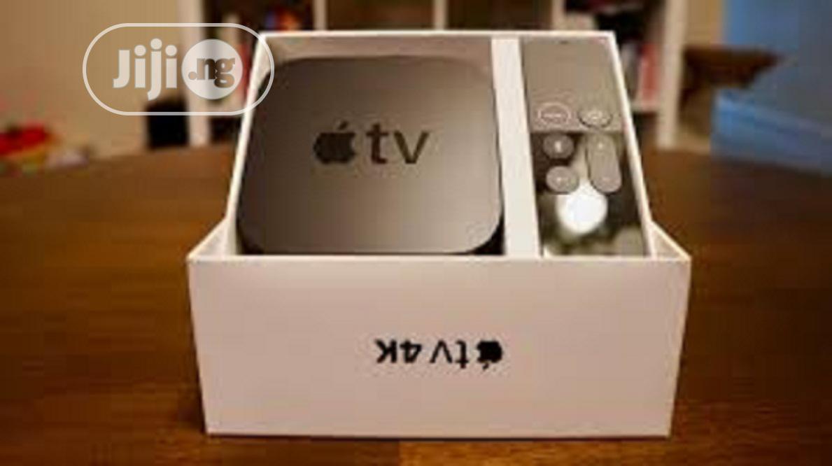 Apple Tv Box 4k 32gb | TV & DVD Equipment for sale in Ikeja, Lagos State, Nigeria