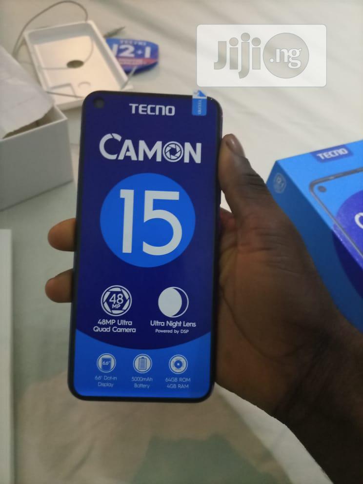Archive: Tecno Camon 15 64 GB