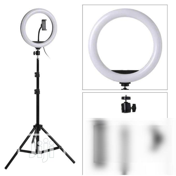 Light Dimmable 33 Inches LED Ring For Phones Youtube Makeup | Accessories & Supplies for Electronics for sale in Apapa, Lagos State, Nigeria