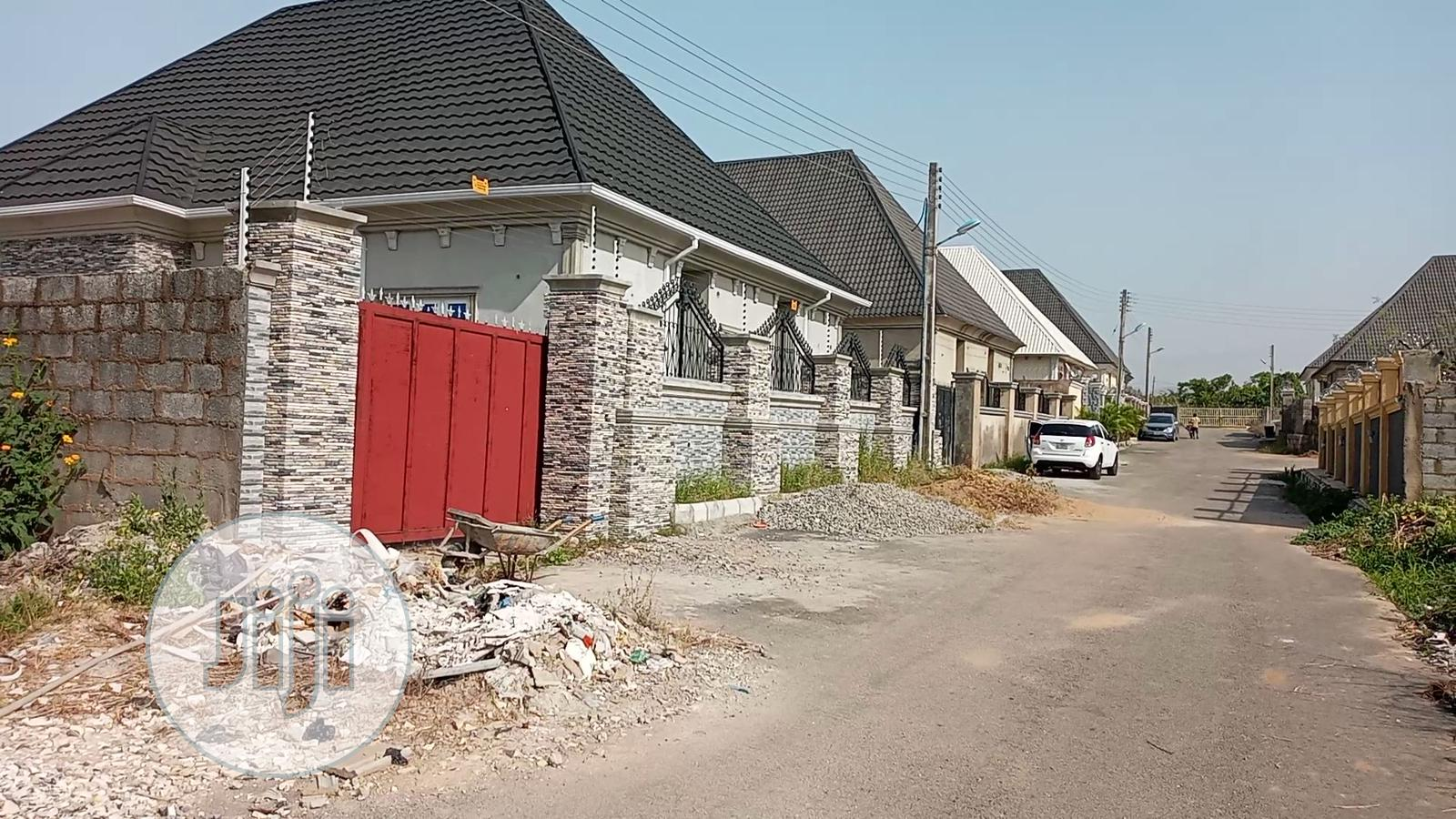Unfinshed 4 Bedrooms Bungalow at Exclusive Estate for Sale | Houses & Apartments For Sale for sale in Dei-Dei, Abuja (FCT) State, Nigeria